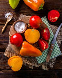 トマト ピーマン 余分な熱を取り除いてくれる食べ物